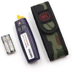10mw handheld visual localizador de falhas/vfl/verificador de quebra de fibra, caneta fibra cheaker pode testar 12 km