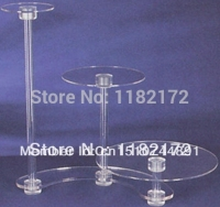 YAXIN 3 Tier high quality Layout Beautiful Acrylic Cupcake Stand Party / Wedding / Festival Supplies