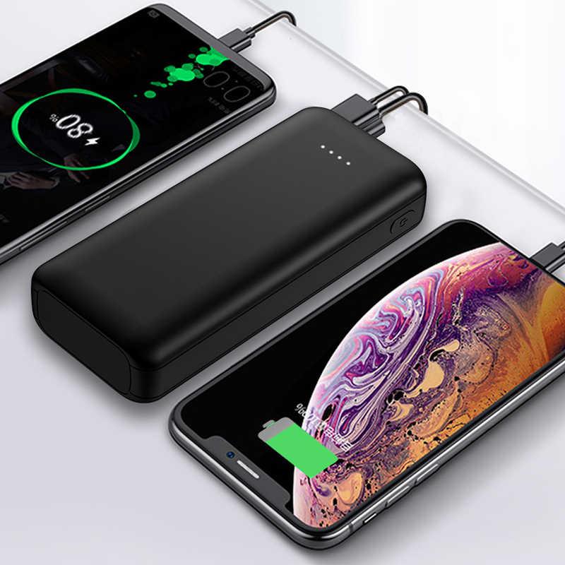 10000 mAh mi ni Công Suất Ngân Hàng di động Sạc Nhanh cho iPhone X 8 Plus Samsung S8 S9 Tiểu mi BATTERIE externe Poverbank Mi Power Bank