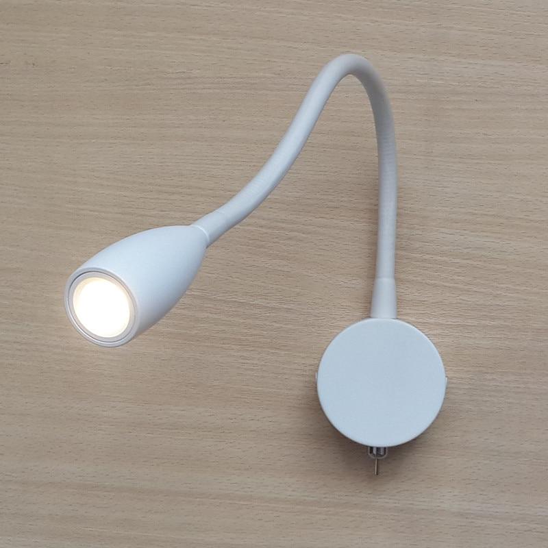 Topoch Bunk Bed Lampy Opaque White Jednoduchost Konstrukce pro 5-hvězdičkové hotely CREE LED 3W AC100-240V Firemní hadice 360mm