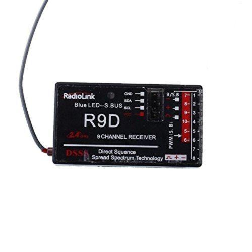 Радиолинк AT9-R9D 2.4 ГГц 9CH DSSS Приемник Для AT9 AT10 Передатчик