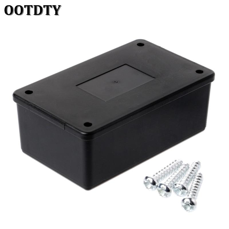 50 Plastic Electronic Project Box Enclosure Instrument case DIY 85*50*21mm Black