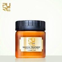 цена 120/60ML Magic Deep Hair Cream Repair keratin Hair & Scalp Treatment Nutrition Soft Baking Oil Repairing Hair Rashness Scalding онлайн в 2017 году