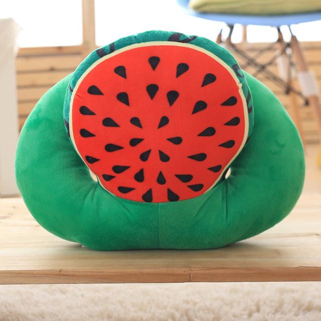 Fruto criativo Travesseiro Macio E Confortável saco de Dormir Do Bebê Mini Cadeira Do Sofá Almofada Brinquedos Para As Crianças