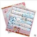 Envío Gratis 100% Algodón Otoño Invierno Recién Nacido Set de Regalo de Luna Llena la Ropa del bebé Infantiles Set de Regalo recién nacido ropa de bebé de 21 unidades