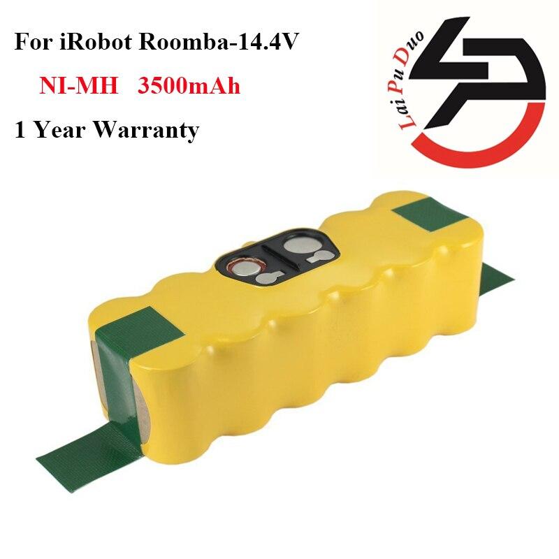 New Battery NI MH 14 4v 3 5Ah for iRobot Roomba 500 560 530 510 562