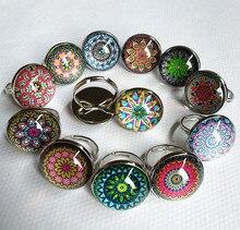 24 Pcs Lot Mixed 12 Stylesspring And Summer Style Indian Mandala Flower