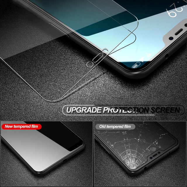 Protective Glass For Xiaomi Redmi 4 4A 4X 5A 5 Plus Tempered Screen Protector Glass on the Redmi 6 Pro 6A S2 Note 4 4X 5 5A Film 4