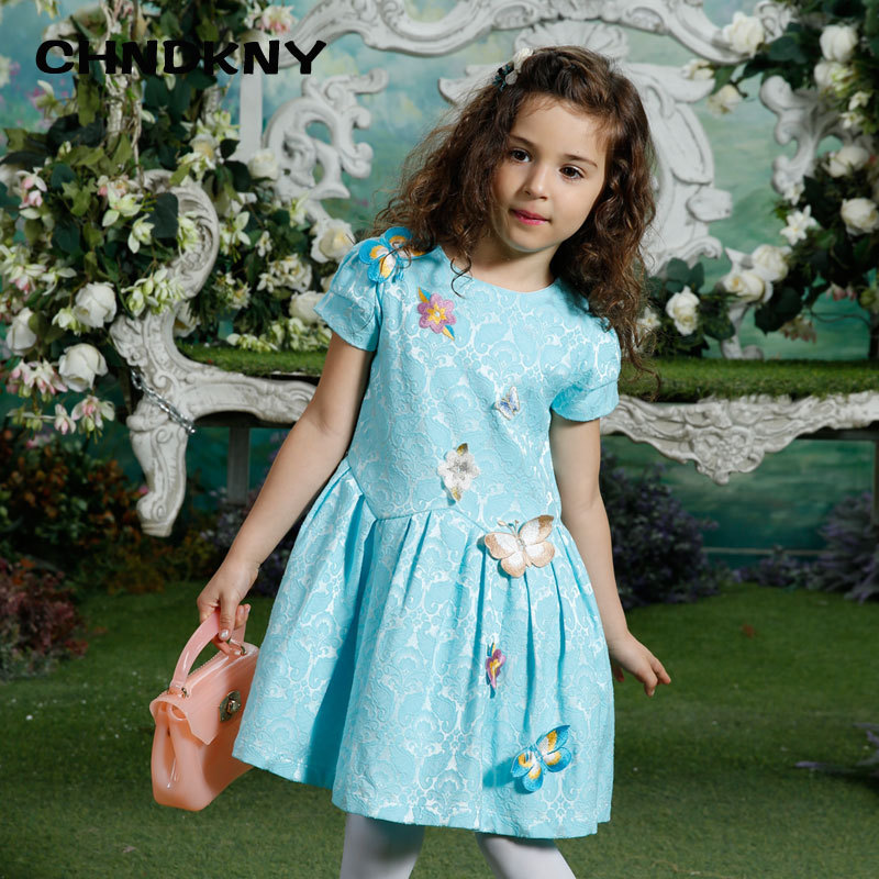 Childdkivy Girls Winter Dress 2018 Baby Girl Dresses For Girls Clothes Appliques Butterfly Children Dress Baby Dress