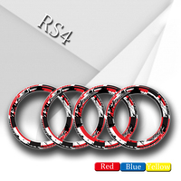 4 X Thick Edge Outer Rim Sticker Stripe Wheel reflective stickers Fit APRILIA rs4