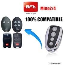 Бесплатная доставка! (5 шт.) 433 м Совместимость bft mitto 2 Пульт дистанционного управления для открытия/двери гаража