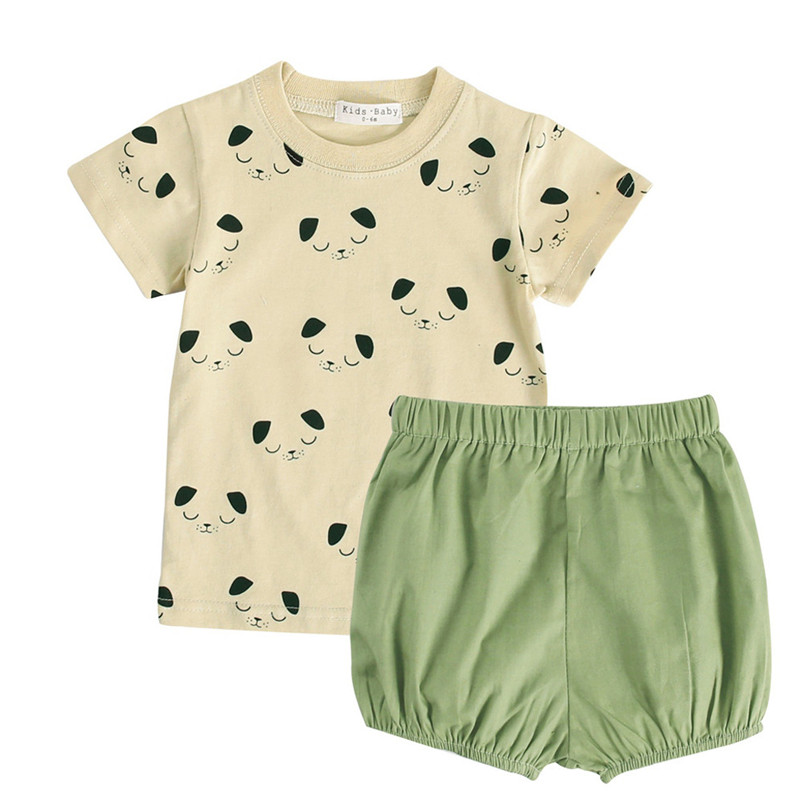 2018 New Summer Newborn Toddler Baby Boys Letter Print Tops T Shirt Dot Pants Hat Outfits Set chirlren clothing P5