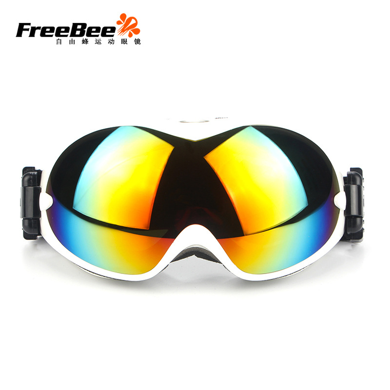 Outdoor Double Layers Ski Goggles Snowboard Skating Goggles Anti-fog Ski Mask Glasses Skiing Men Women Snow Snowboard Goggles
