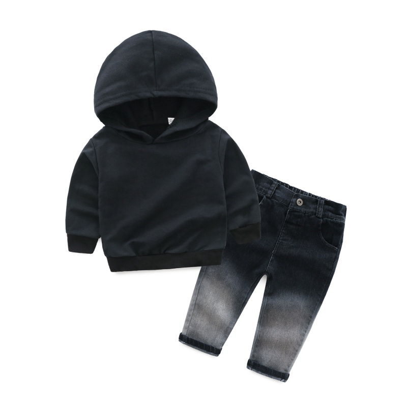 New 2pcs Children Clothes Set 2018 Spring Autumn Children Casual Long-sleeved Hooded Sweatshirt+Pant set Baby Boys Clothing YNew 2pcs Children Clothes Set 2018 Spring Autumn Children Casual Long-sleeved Hooded Sweatshirt+Pant set Baby Boys Clothing Y