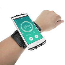 Rotatable Mobile Phone Arm Bag Band Running Walking Riding Outdoor Wrist Dedicated