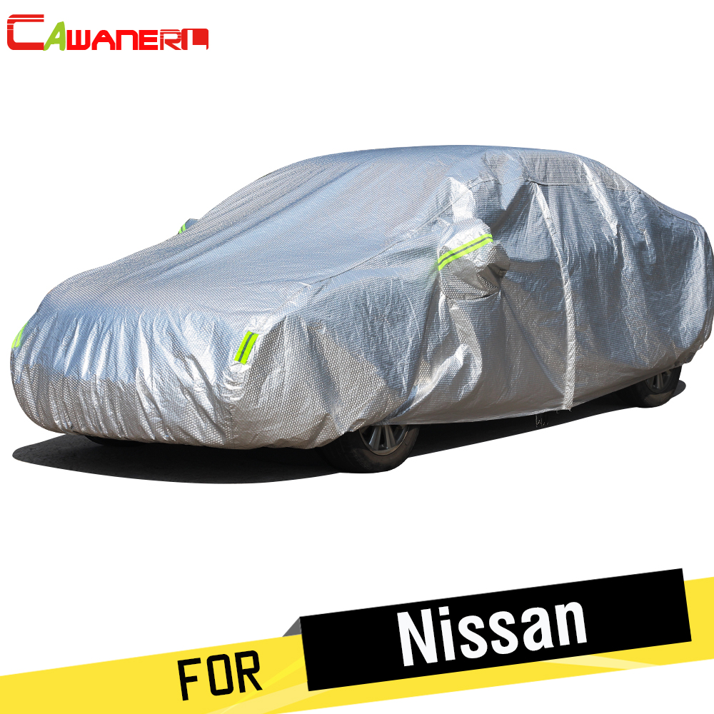 Cawanerl Thicken Car Cover Sun Rain Snow Hail Protection Cotton Cover For Nissan GT-R Juke March Micra Murano Note Pixo Platina wltoys v272 09 protection cover for v272 v282 v292 mh370 h111 r c quadcopter red