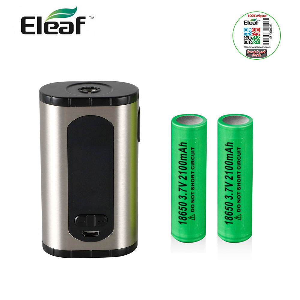 Original Eleaf Invoke 220W Box MOD 220W 2A with 2pcs 18650 Battery Support VW/TC(/TCR  Modes E-Cigarettes New Arrival voopoo drag 157w tc box mod