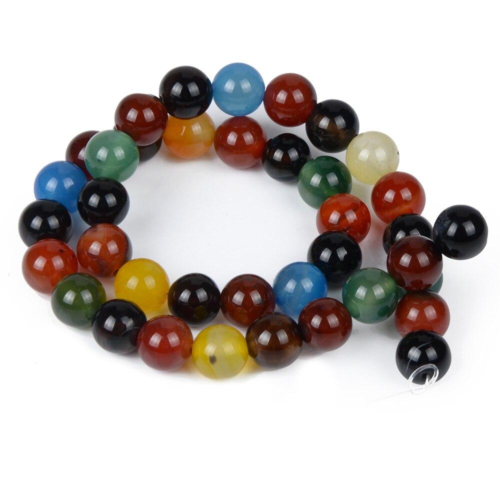 Colorful Beads Natural Stone Women Jewelry Fashion Making Loose Beads