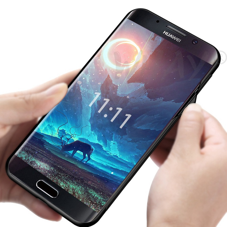 Phone Glass Case For Huawei Nova 3 2i Coque Silicone Luxury Case For Huawei P20 Pro Honor Play 7A 9 Mate 10 Lite P Smart Y6 2018 (5)