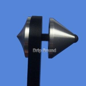 Image 5 - אלומיניום החלקה אנטי תהודה בשילוב חום אודיו רמקול ספייק כרית הלם בולם בידוד Stand חצובה רגליים נייל 39mm