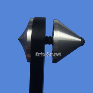 Image 5 - Aluminium Non slip Anti resonance Combined Fever Audio Speaker Spike Pad Shock Absorber Isolation Stand Tripod Feet Nail 39mm