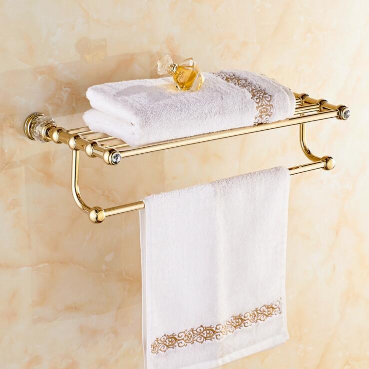 Beautiful Accessoires Sanitaires Cristal Et En Laiton Photos ...