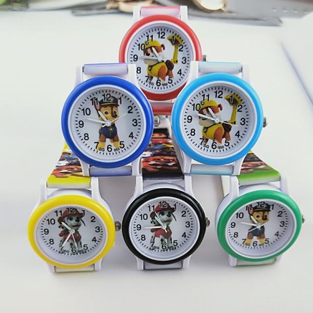 New Silicone Children Watch Boys Girls Clock Child Quartz Wristwatches Fashion C