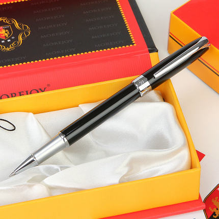 Britain MOREJOY Brand MJ-200 Elegant Classique Roller Ball Pen and Gift Box Ballpoint/Sign/Metal Pen Free Shipping advanced roller ball pen jinhao chinese dragon bronze white with black heavy gife pen