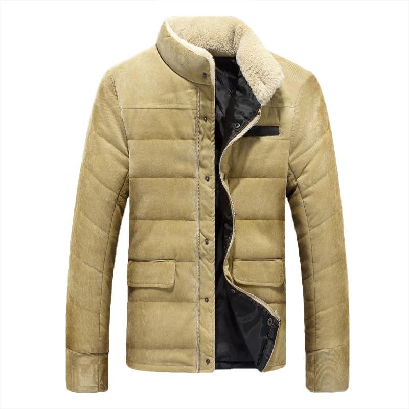 2018 Winter Jacket Men Hooded Parka Hombre Jacket Coat Mens Windbreaker Parkas Cotton Youth Plus Size 5XL Clothing Windbreaker