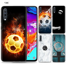 Bags Case for Samsung Galaxy Mobile Phone A50 A70 A30 A20 J4 J6 J8 A6 A8 M30 A7 Plus 2018 Note 8 9 Basketball Football Soccer Vo(China)
