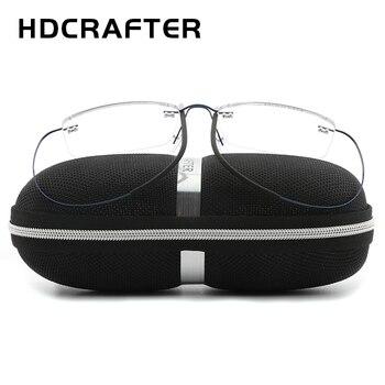 HDCRAFTER Lightweight Titanium Eyeglasses  1