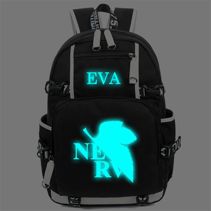 Anime Neon Genesis Evangelion EVA Backpack Cosplay High Quality Laptop  Shoulder School Bag Men Women Knapsack Mochila anime tokyo ghoul cosplay anime shoulder bag male and female middle school student travel leisure backpack