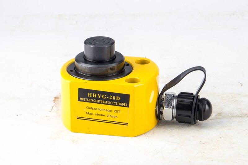 Aletler'ten Hidrolik Aletler'de DFPY 10T Küçük Taşınabilir Küçük Seyahat Çok Bölüm Hidrolik Kriko için Uygun Güç  Mühendislik  Makine title=