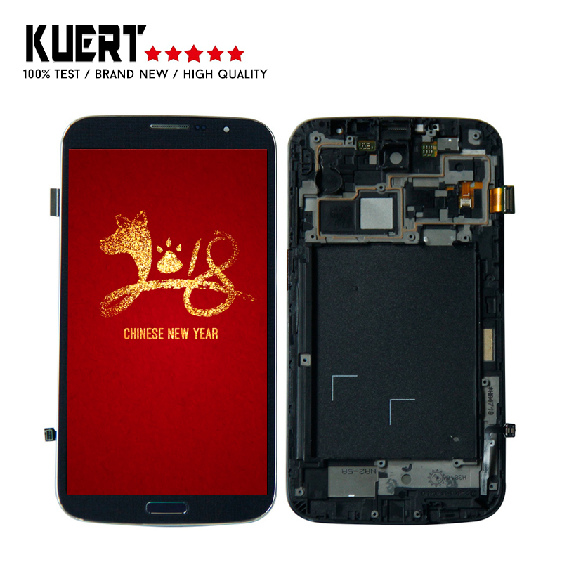 6.3'' For <font><b>Samsung</b></font> Galaxy Mega <font><b>i9200</b></font> i9205 1280x720 Digitizer Touch Screen Lcd Display Assembly Replacement Parts image