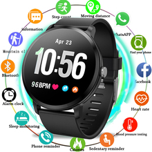 Stylish SmartWatch V11 1.3 Inch 240*240 Tempered Glass Screen IP67 Waterproof Heart Rate Monitoring Blood Pressure For Men Women