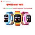 Q90 originais smart watch gps wifi tela de toque smartwatch chamada sos localização devicetracker segura criança anti-perdido do monitor pk q60 q80