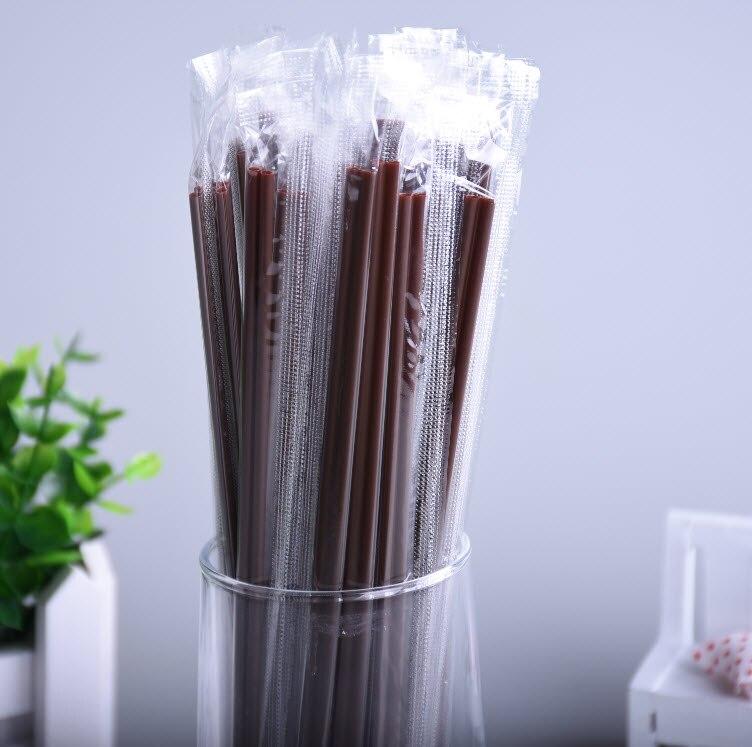 Aliexpress.com : Buy 100pcs/lott Disposable Coffee Straws ...