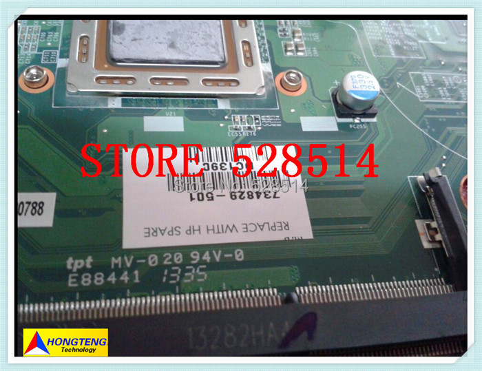original FOR HP PAVILION TOUCHSMART 15 N SERIES font b MOTHERBOARD b font 734829 501 734829