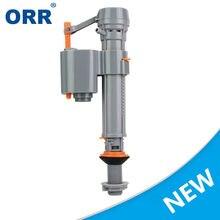 Резервуар для воды унитаза впускные клапаны тихая промывка серый