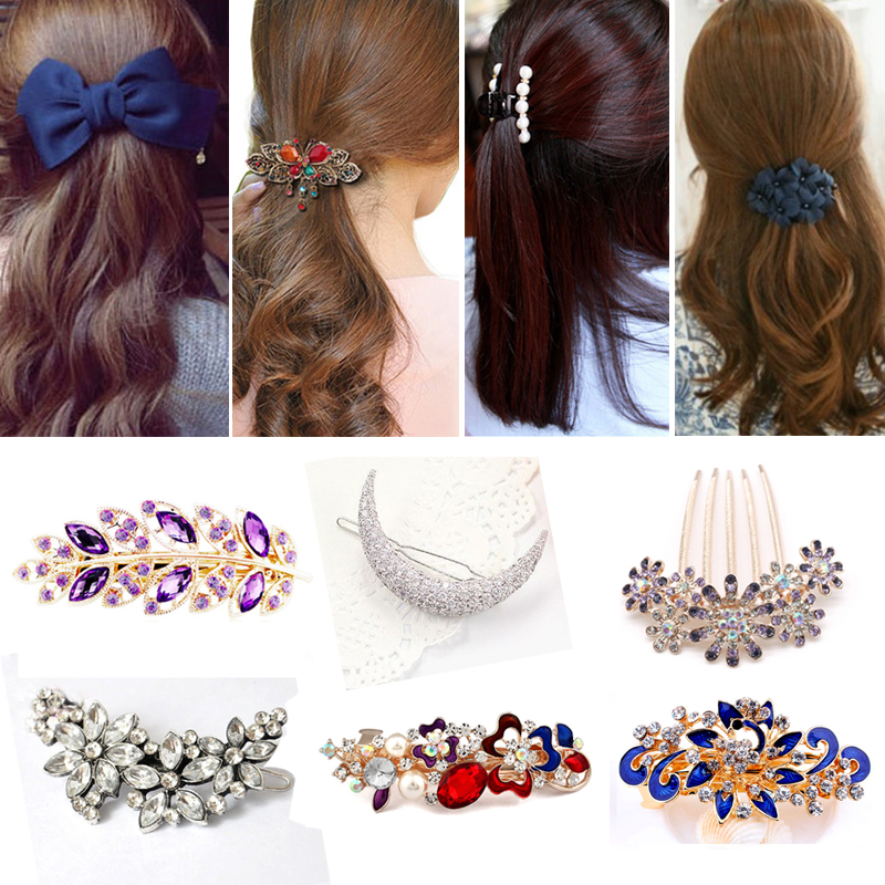 1Pcs Different Style Hair Clips for Girls Women Hairclips Girls   Headwear   Barrette Hairgrips Hair Ornament Women Hair Accessories
