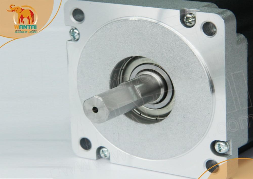 1 pz Nema 34 Wantai Stepper Motor 1232oz-in, 6A, WT86STH118-6004A & 4 pz Driver DQ860MA, 7.8A/80VDC CNC Mill Cut Incisione, Laser