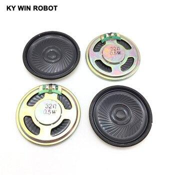 5pcs/lot New Ultra-thin speaker 32 ohms 0.5 watt 0.5W 32R speaker Diameter 40MM 4CM thickness 5MM 5pcs lot new ultra thin speaker 8 ohms 0 5 watt 0 5w 8r speaker diameter 40mm 4cm thickness 5mm