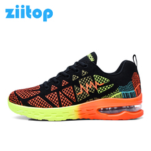 Ziitop Air Cushion Running Shoes For Men Flat Sport Shoes Men Trail Running Trainers Sneakers Men zapatillas hombre deportiva