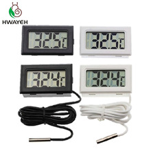 1pcs LCD Digital Thermometer for Freezer Temperature -50~110 degree Refrigerator Fridge