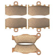 Motorcycle Parts Copper Based Sintered Motor Front & Rear Brake Pads For BMW R1150RT R1150 RT (Integral ABS) 2000-05 Brake Disk