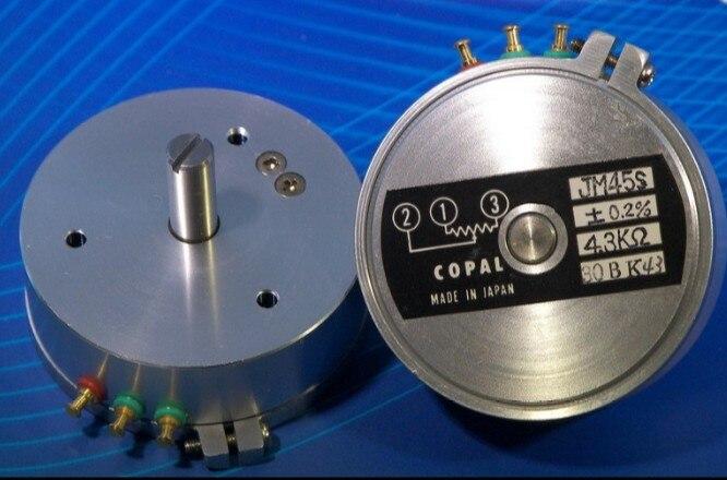 Электронный линейка специализированный потенциометр устройство регулятор скорости JM45S 0.2% 4,3 k COPAL оригинальный переключатель