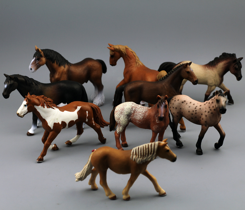 solid pvc figure  Simulation Toy Animal Zoo World Wildlife Ferghana  Maxima model  9pcs/set купить