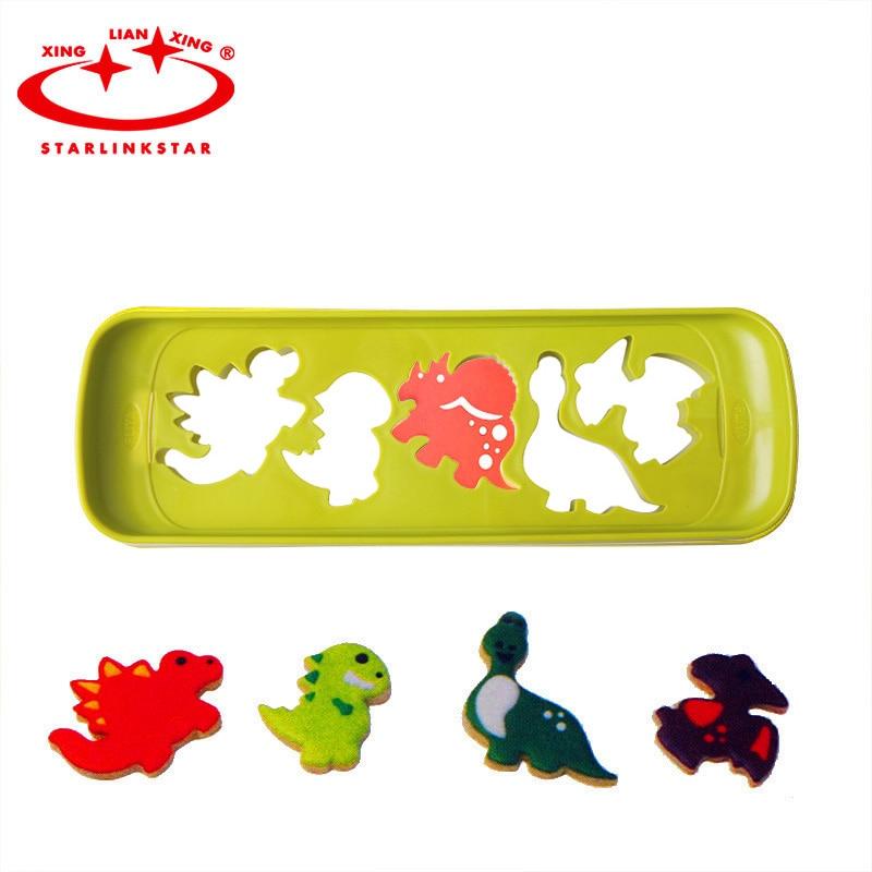Kitchen Craft Sweetly Does It Edible Dinosaur Themed Cupcake Kit