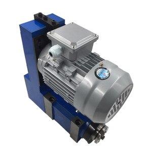 Image 3 - แกนหน่วย MT3 BT30 ER25 หัว 3000 RPM 8000 RPM 370W มอเตอร์ V Belt DRIVE สำหรับเจาะ CNC Milling แกะสลัก