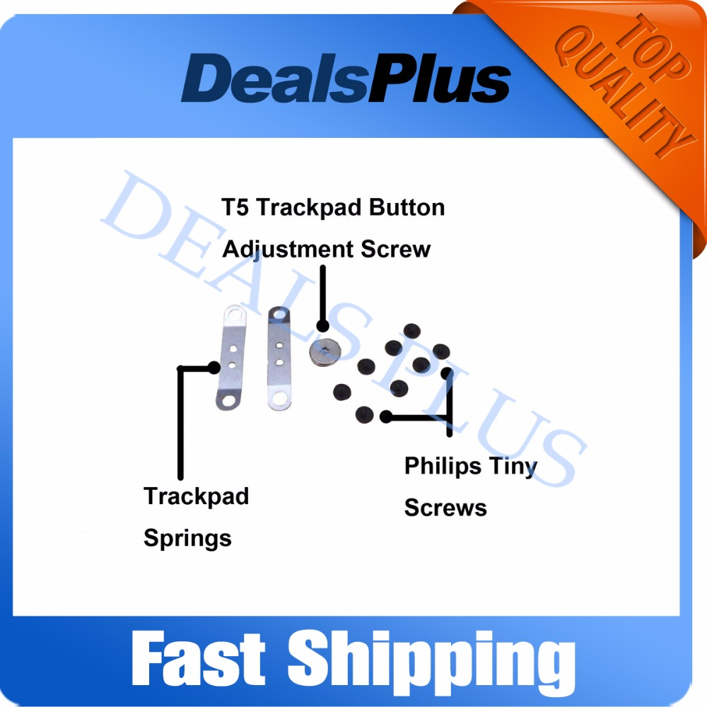 New Replacement Touchpad Trackpad Screw Kits For MacBook Pro Unibody A1278 A1286 2009 2010 2011 2012 A1342